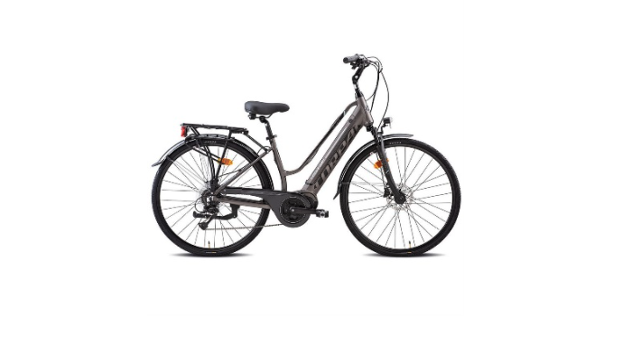 Bici elettrica E-city Ebike Torpado Brescia